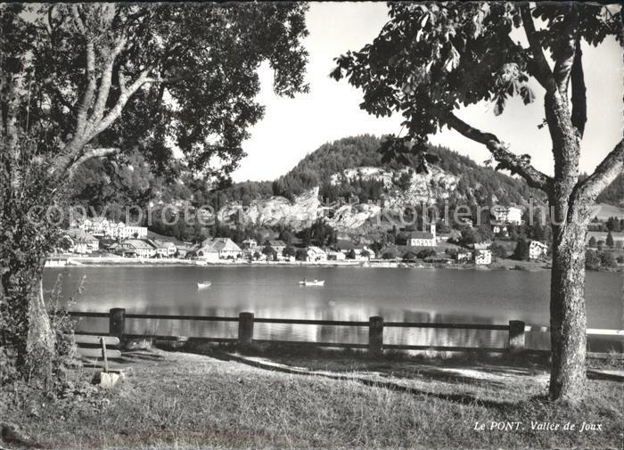 Le Pont VD Bord du Lac de Joux Kat. Le Pont
