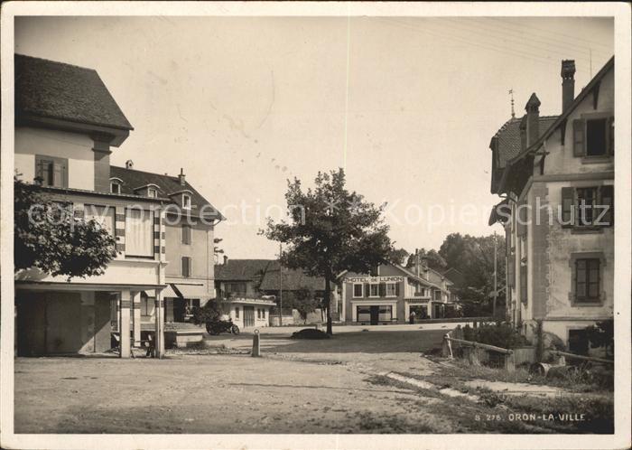 Oron la Ville Place Hotel de l Union Kat. Oron la Ville
