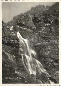 Chamonix Cascade du triege Kat. Chamonix Mont Blanc