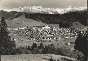 Einsiedeln SZ Panorama / Einsiedeln /Bz. Einsiedeln