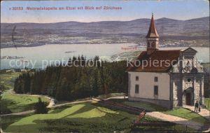 Etzel St Meinrad Meinradskapelle Zuerichsee / Etzel (St. Meinrad) /Rg. Pfaeffikon SZ