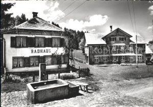 Hemberg SG Gasthaus-Ferienkolonie zur Traube Badhaus / Hemberg /Bz. Toggenburg