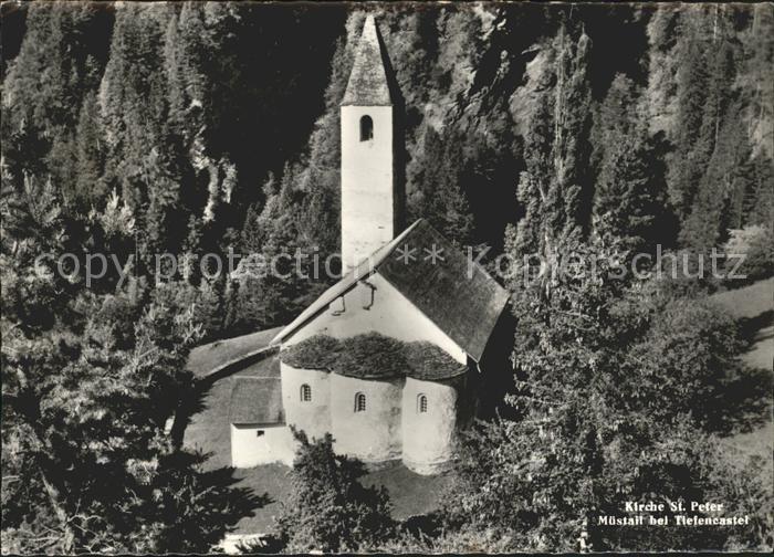 Tiefencastel Kirche St.Peter Kat. Tiefencastel