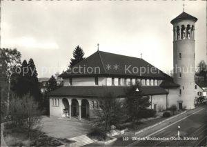 Wollishofen Katholische Kirche Kat. Wollishofen