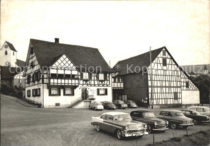 st24825 Flaach Gasthof Restaurant Sternen Kat. Flaach