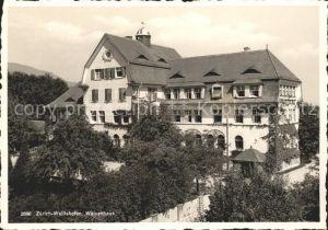 Wollishofen Waisenhaus Kat. Wollishofen