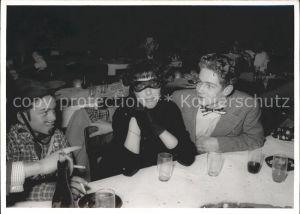 Toess Faschingsfeier Frau mit Maske Kat. Winterthur
