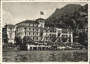 Lugano TI Strandhotel Seegarten Lido Kat. Lugano
