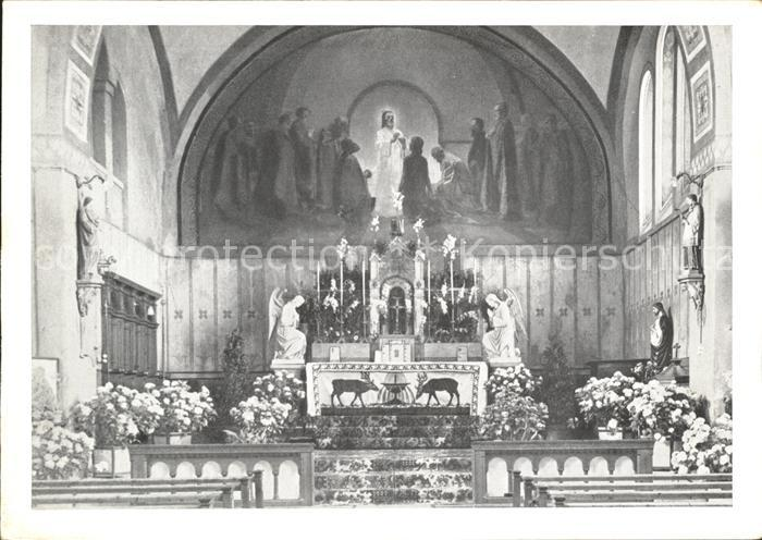 Duernten Chor der kath Kirche Kat. Duernten