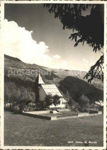 Ilanz GR St. Martin Kirche / Ilanz /Bz. Surselva