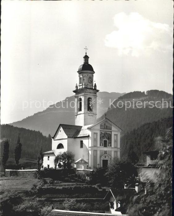 Tiefencastel Kirche Kat. Tiefencastel