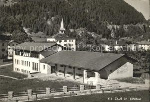 Zillis Schulhaus Kat. Zillis