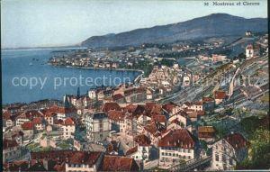 Montreux VD et Clarens Lac Leman / Montreux /Bz. Vevey