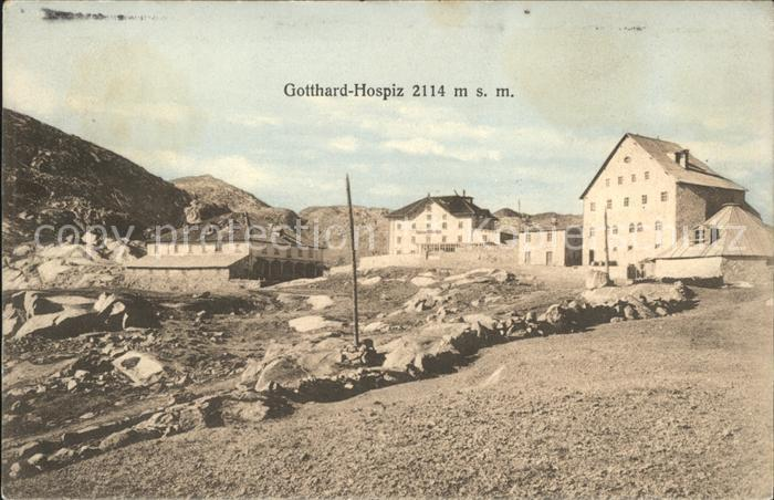 St Gotthard Gotthard Hospiz Kat. Gotthard St.
