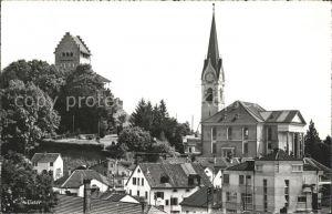Uster ZH Schloss und Kirche / Uster /Bz. Uster