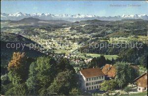 Turbenthal Gyrenbad Panorama Kat. Turbenthal
