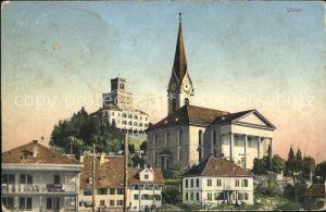 Uster ZH Kirche Schloss / Uster /Bz. Uster
