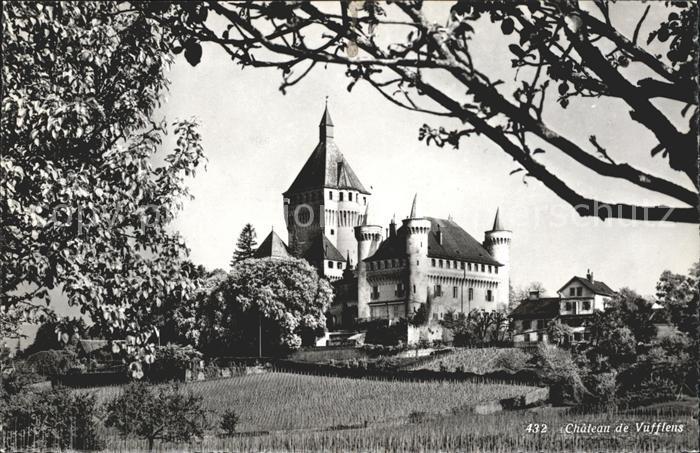 Vufflens le Chateau Chateau Kat. Vufflens le Chateau