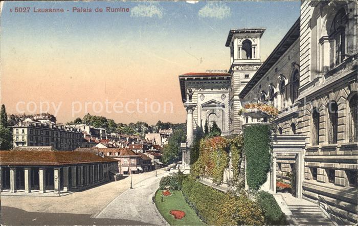 Lausanne VD Palais de Rumine / Lausanne /Bz. Lausanne City