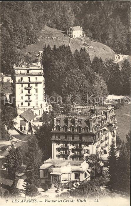 Les Avants Grands Hotels Kat. Les Avants
