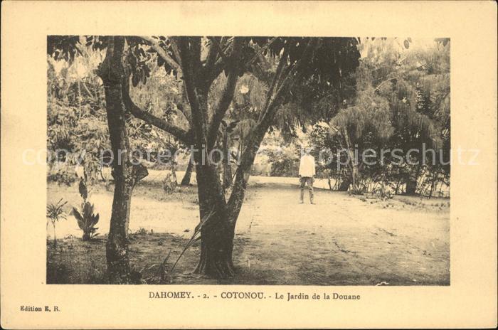 Cotonou Jardin de la Douane Kat. Cotonou