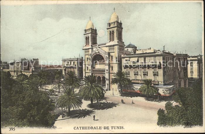 Tunis Cathedrale de Tunis Kat. Tunis