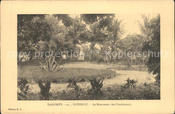 Cotonou Monument des Combattants Kat. Cotonou