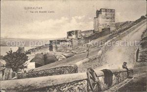Gibraltar Old Moorish Castle Kat. Gibraltar