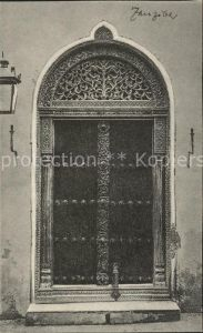 Zanzibar Portal Kat. Zanzibar