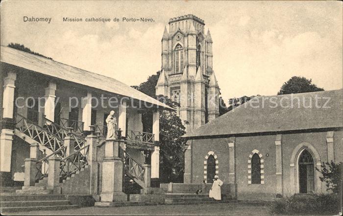 Porto Novo Mission catholique Kat. Porto Novo