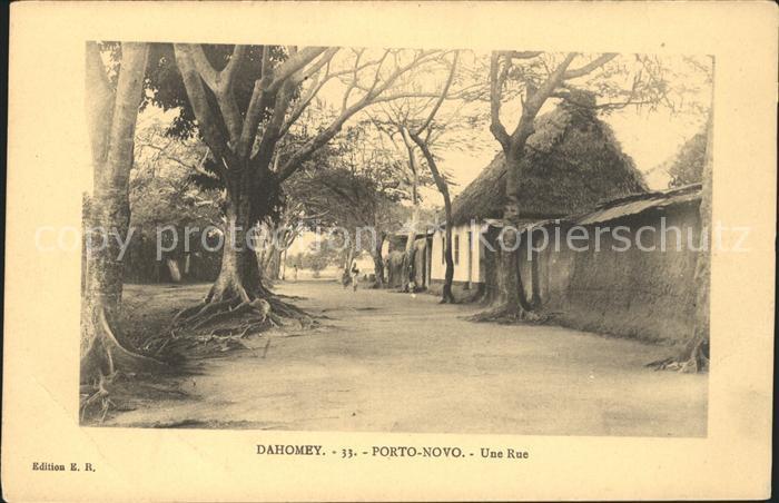 Porto Novo Une rue Kat. Porto Novo