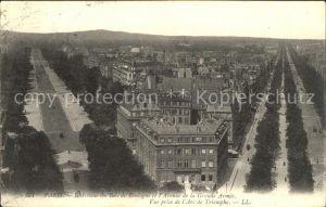 Paris Avenue du Bois de Bologne Avenue de la Grande Armee vue prise de l Arc de Triomphe Kat. Paris