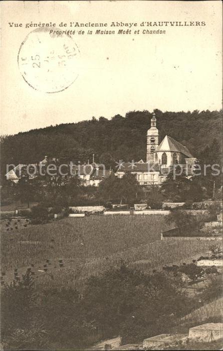 Hautvillers Ancienne Abbaye Kat. Hautvillers
