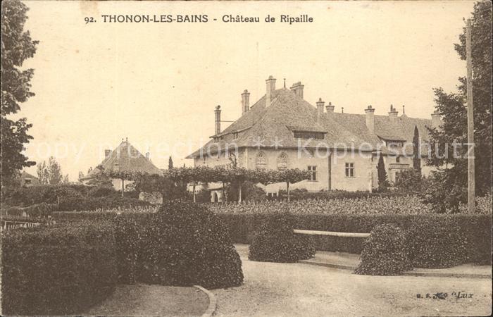 Thonon les Bains Chateau de Ripaille Kat. Thonon les Bains