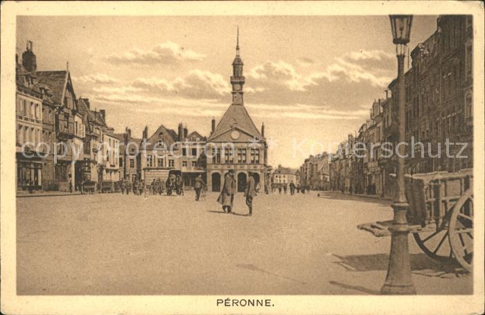 Peronne Somme Place Militaire Grande Guerre 1. Weltkrieg / Peronne /Arrond. de Peronne