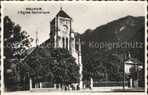Moutier Eglise Catholique Kat. Moutier