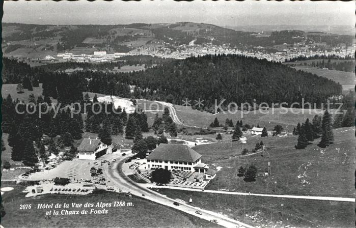 La Chaux de Fonds Hotel de la Vue des Alpes Kat. La Chaux de Fonds