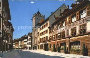 Rheinfelden AG Marktgasse mit Rathaus Kat. Rheinfelden