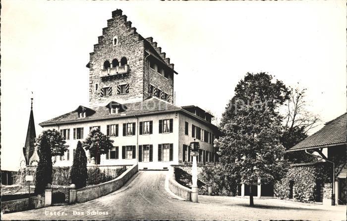 Uster ZH Schloss Uster / Uster /Bz. Uster