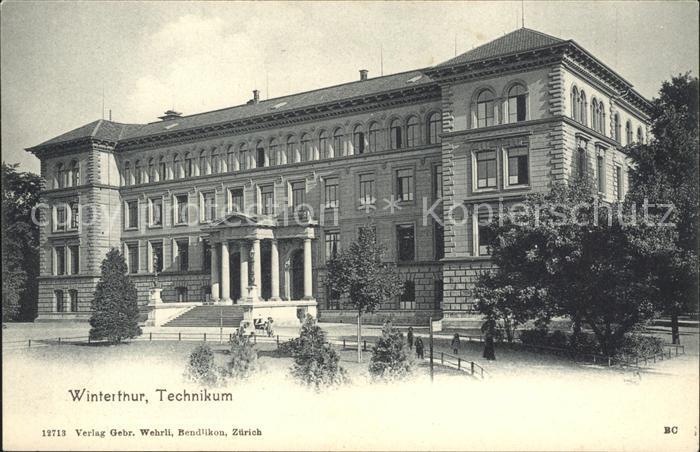 Winterthur Technikum Kat. Winterthur