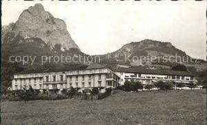 Schwyz Krankenhaus mit Mythen Kat. Schwyz