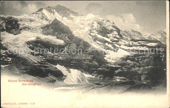 Kleine Scheidegg Wengen Die Jungfrau Kat. Scheidegg Kleine