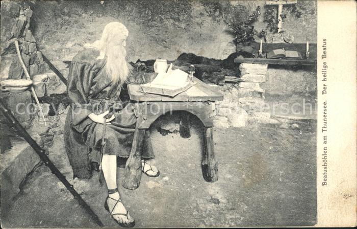 Beatushoehlen am Thunersee Der heilige Beatus Kat. Sundlauenen