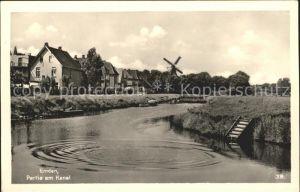 Emden Ostfriesland Partie am Kanal / Emden /Emden Stadtkreis
