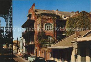New Orleans Louisiana Miltenberger Home Royal Street Autos Kat. New Orleans