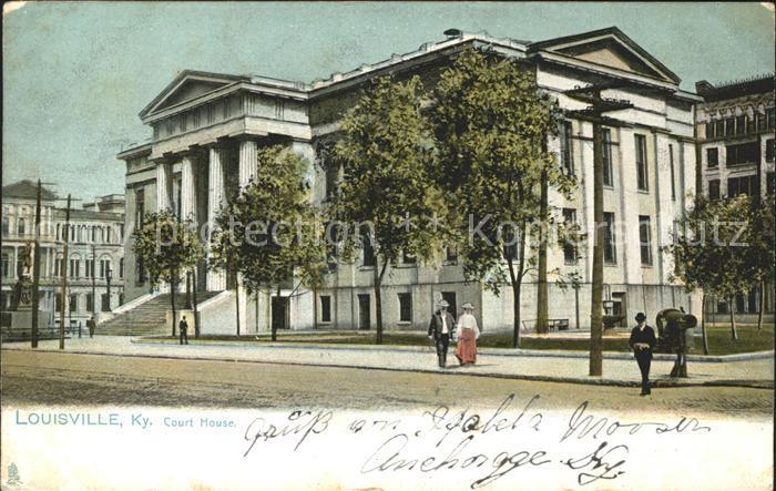 Louisville Kentucky Court House Kat. Louisville