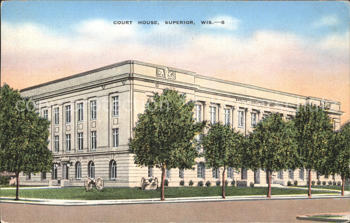 Superior Wisconsin Court House Kat. Superior