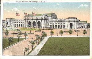 Washington DC Union Station Auto Kat. Washington