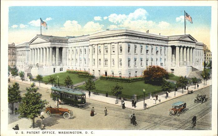 Washington DC U.S. Patent Office Kat. Washington
