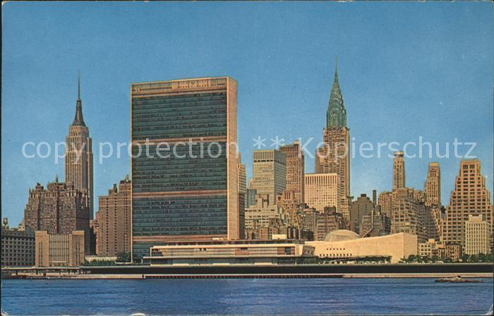 Manhattan New York Empire State Chrysler Building Kat. Manhattan